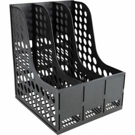 Лоток вертикальный Axent 4041-01-A, 310x240x260 мм, чёрный