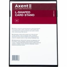 Табличка информационная Axent, L-образная, 6250-01-A, A4, односторонняя