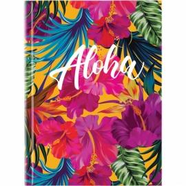 Книга записная Axent Neon Tropics 8432-09-A, A5, 145x210 мм, 120 листов, клетка, твердая обложка