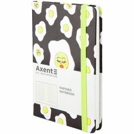 Книга записная Axent Partner BBH Eggs 8210-01-A, A5-, 125x195, 96 листов, клетка, твердая обложка