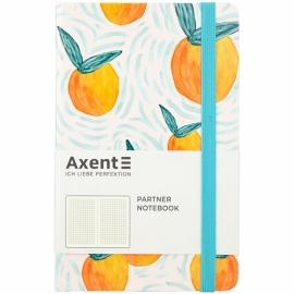 Книга записная Axent Partner BBH Orange 8210-03-A, A5-, 125x195, 96 листов, клетка, твердая обложка
