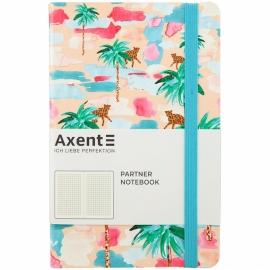 Книга записная Axent Partner BBH Soft Palm 8212-02-a, A5-, 125x195, 96 листов, клетка, гибкая обложка