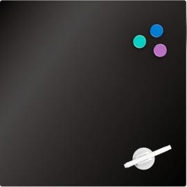 Доска стеклянная магнитно-маркерная Axent 9614-А, 45x45 см, ассортимент цветов