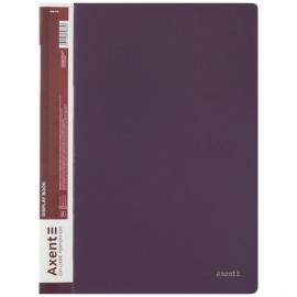 Дисплей-книга Axent 1040-11-A, A4,40 файлов, сливовая