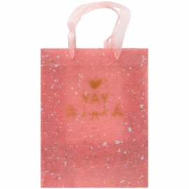 Пакет пластиковый подарочный Axent 8503-14-A, 25х19см, Shade Coral