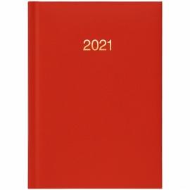 ЕЖЕДНЕВНИК КАРМАННЫЙ ДАТИРОВАННЫЙ BRUNNEN 2021 MIRADUR, КРАСНЫЙ