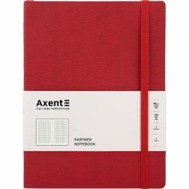 Книга записная Axent Partner Soft L, 8615-A, 190x250 мм, 96 листов, клетка, гибкая обложка, ассортимент цветов
