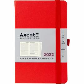 Еженедельник 2022 Axent Partner Strong 8505-A, A5-, 125x195 мм, 96 листов, ассортимент цветов