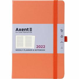 Еженедельник 2022 Axent Prime Strong 8507-A, A5, 145x210 мм, 96 листов, ассортимент цветов