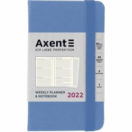 Еженедельник 2022 Axent Pocket Strong 8508-A, A6-, 90x150 мм, 96 листов, ассортимент цветов
