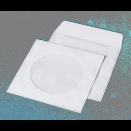 Конверт для CD (124х124мм) белый НК с окном