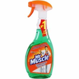 Средство для мытья окон Mr. Muscle с курком, 500 мл