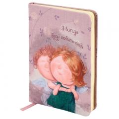 Книга записная Gapchinska А6 8407-06-A Я всегда буду любить тебя