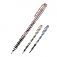 Ручка масляная Axent Shine AB1063-02-A, 0.7 мм, синяя