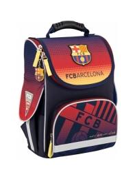 Рюкзак школьный каркасный 501 FC Barcelona‑2/ BC15-501S-2