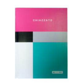 Записная книжка CHIAZZATO, А5, 80 л., клетка, интегральная обложка, ассортимент цветов