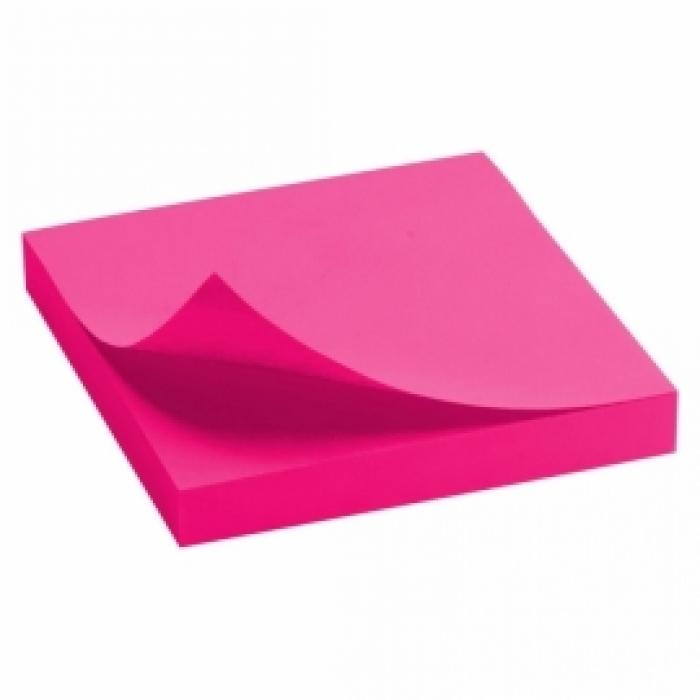 Блок бумаги с липким слоем Delta D3414-12 75x75 мм, 100 листов, Ассорти