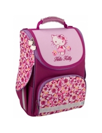 Рюкзак школьный каркасный 501 Hello Kitty/HK16-501S