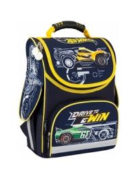 Рюкзак школьный каркасный 501 Hot Wheels