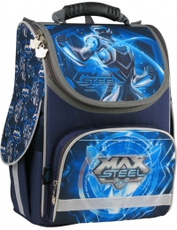 MX15-501-1S Рюкзак школьный каркасный 501 Max Steel-1