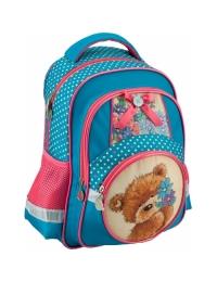 Рюкзак школьный 525 Popcorn Bear/PO16-525S