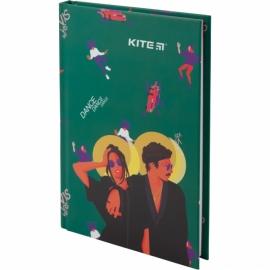Книга записная Kite Время и СтеклоVIS19-199-1 твердая обложка А6, 80 листов, клетка