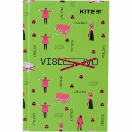 Книга записная Kite Время и Стекло VIS19-199-4 твердая обложка А6, 80 листов, клетка