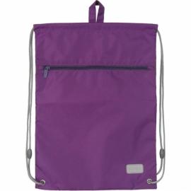 Сумка для обуви с карманом K19-601M-32. фиолетовая