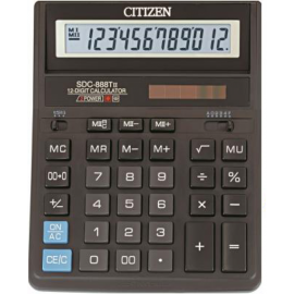 Калькулятор Citizen SDC-888T Ассорти