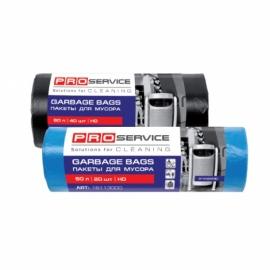 Пакеты для мусора HD 60л/40шт., черные 60*80 см, Standart PRO Service