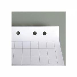 Блок бумаги для флипчарта , 64х90 , 30 листов, клетка . 8065 - А