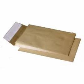 Конверт В4 (250х353мм) коричневый СКЛ, с расширением 40мм по бокам и узких сторонах 40 мм