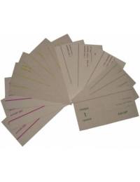 Подкладки картонные на все номиналы